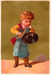 VICTORIAN TRADE CARD, UNKNOWN.