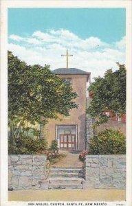 New Mexico Santa Fe San Miguel Church