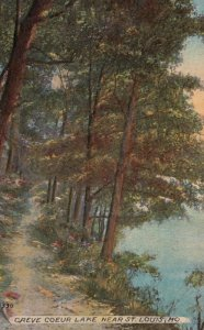ST. LOUIS, Missouri, 1914; Creve Coeur Lake