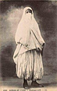MAURESQUE D'ALGERS~MOORISH WOMAN OF ALGIERS~L.L. PHOTO POSTCARD
