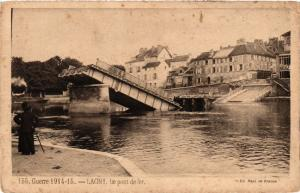 CPA Militaire, Lagny - Le Pont de fer (278898)