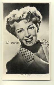 b1161 - Film Actress - Lana Turner - postcard