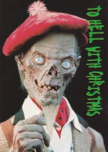 The Crypt Keeper Tales From The Crypt To Hell With Christmas Postcard