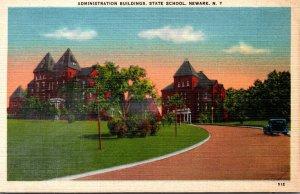 New York Newark Administration Buildings State School