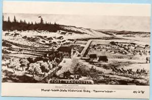 WA - Tacoma, Washington State History Building - Fort Vancouver  *RPPC