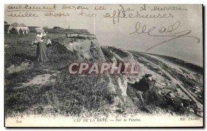 Old Postcard Le Havre Cape De La Heve On Cliff