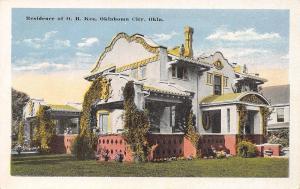 Oklahoma City~Cotton Magnate OB Kee Residence~Spanish Revival~Climbing Ivy 1920s
