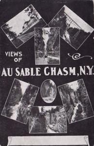New York Views Of Au Sable Chasm New York