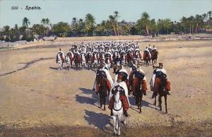 Tunisia Spahis French Recruited Light Cavalry Regiment Military
