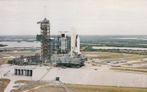 Florida Kennedy Space Center First Space Shuttle Columbia Pad A Complex 39 s7229