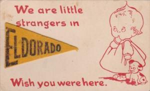 Pennant Series Felt Eldorado Texas
