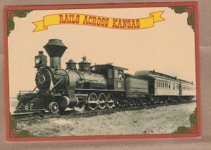 Indian Railway INDIA WP 4-6-2 Pacific 7154 Railroad Train Postcard