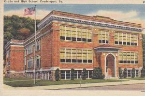 Pennsylvania Coudersport Grade And High School
