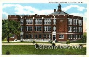 High School Bldg Jefferson City MO Unused