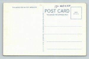 Palacio Municipal Mexicali Baja California Mexico Vintage Postcard