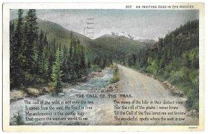 The Call of the Trail, Colorado Springs, CO to Wichita, Kansas 1934 Sanborn