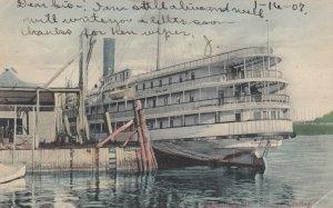 GARDINER, Maine, 1907; Steamer Landing