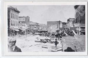 RPPC ? Flood Damage 1921 Pueblo Co