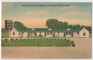 Romany Hotel Courts, Charlotte NC