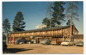 Ruby's Inn Cars Bryce Canyon National Park Utah 1950s postcard