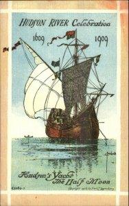1909 Hudson River Celebration C. Beecher - Lounsbury Series Postcard #2