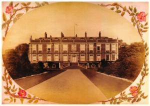 Vintage Repro Postcard, 1905 Croxteth Hall & Country Park,  Queen Anne Wing 11S