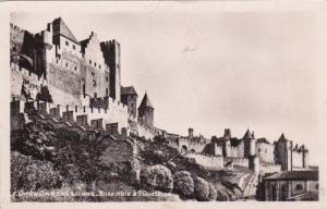 RP, Cite de Carcasonne, Ensemble a l'Ouest, Aude, France, 10-20s