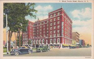New York Elmira Mark Twain Hotel