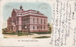 State Capitol (Side View), BOISE, Idaho, PU-1906