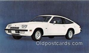 Chevrolet Postcard Post Card 1975 Chevrolet Monza 2+2