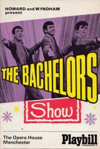 The Bachelors with Mike Yarwood 1970s Opera House Manchester Theatre Programme