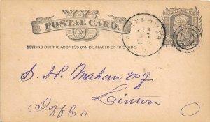 H63/ Port Homer Ohio Postcard 1882 Cooper & Hudson Business Shippers  108