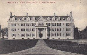 HANOVER, New Hampshire, PU-1910; Massachusetts Hall, Dartmouth College