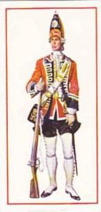 Carreras Vintage Cigarette Card Military Uniforms 1976 No 7 Grenadier 1745 Fi...