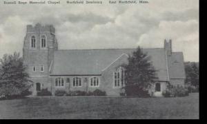 Massachusetts East Northfield Russell Sage Memorial Chapel Northfield Seminar...