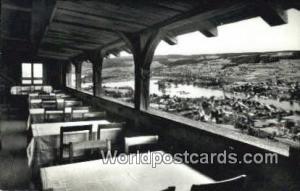 Burg Hohenklingen Germany, Deutschland Postcard Blick von der Terrasse Burg H...