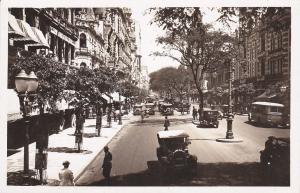 RP: RIO DE JANEIRO , Brasil , 1910-20s ; Trecho da Avenida Rio Branco