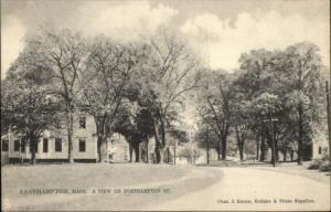 Easthampton MA Northampton St. TUCK #171 c1910 Postcard