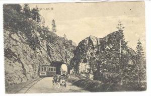 Scene, Trolley, Schlucht (Baden-Württemberg), Germany, 1900-1910s