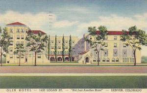 Olin Hotel, Denver, Colorado, PU-1941