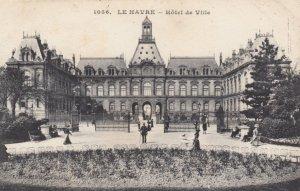 LE HAVRE, France, 1910-1920s, Hotel de Ville