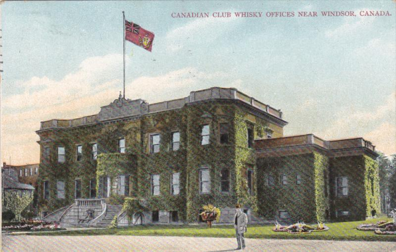 Canadian Club Whisky Offices , WINDSOR , Ontario , Canada , PU-1909