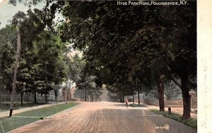 Hyde Park Road in Poughkeepsie, New York