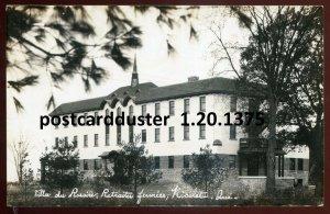 1375 - NICOLET Quebec 1930s Villa du Rosaire. Real Photo Postcard