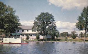 PETERBOROUGH, Ontario, Canada, 1940-1960´s; Dining Room And Main Lodge At El...