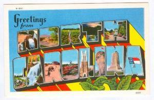 Chimney Rock, Greetings From North Carolina, North Carolina, 30-40's