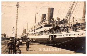 Germany  D.Barbarossa Steamer