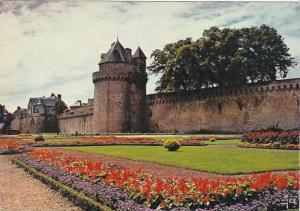 France Vannes Les Jardins aux pieds des Ramparts