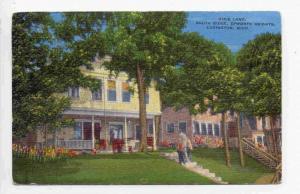 Dixie Land, South Ridge, Epworth Heights, Ludington, Michigan, PU-1949