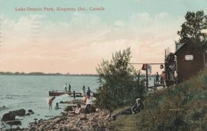 Lake Ontario Park - Kingston, Ontario, Canada - pm 1910 - DB
